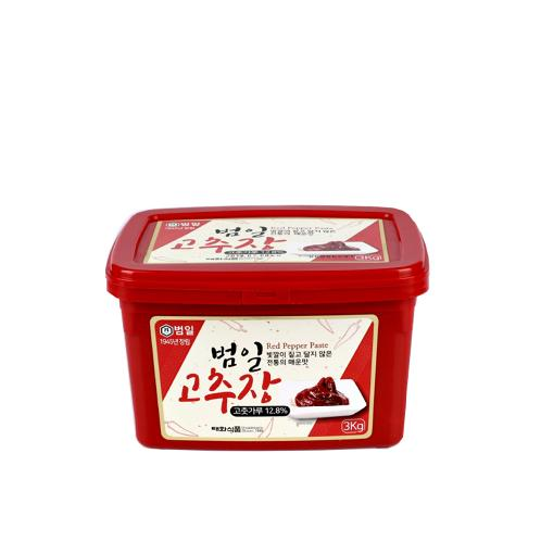 Korean traditional sauces Bumil Gochujang just like home-made red pepper paste (300g / 3kg / 17kg)